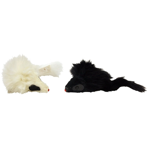Ethical Pets Twin Fur Mice Cat Toys