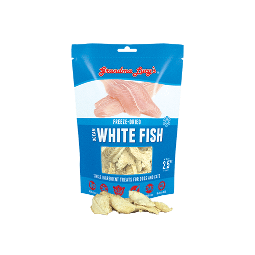 Grandma Lucy's Freeze Dried Pet Treats Ocean White Fish