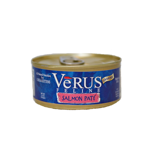 VeRUS Grain Free Salmon Pate Cat Cans