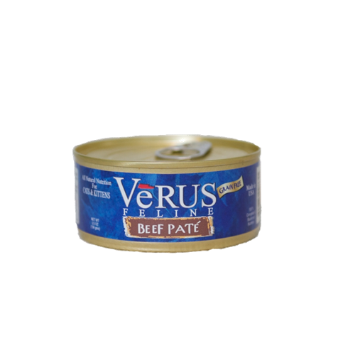 VeRUS Grain Free Beef Pate Cat Cans