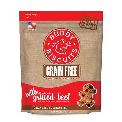 Cloud Star Grain Free Soft & Chewy Beef Dog Treats