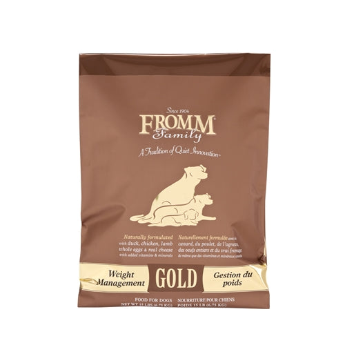 Fromm Family Weight Management Gold Food for Dogs