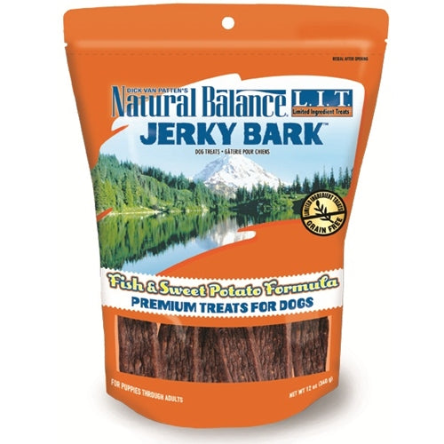 Natural Balance L.I.T. Fish and Sweet Potato Jerky Barks Dog Treats