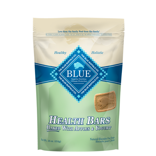 Blue Buffalo Blue Health Bars Baked With Apples and Yogurt