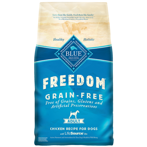 Blue Buffalo Freedom Grain Free Chicken Adult Dog Food