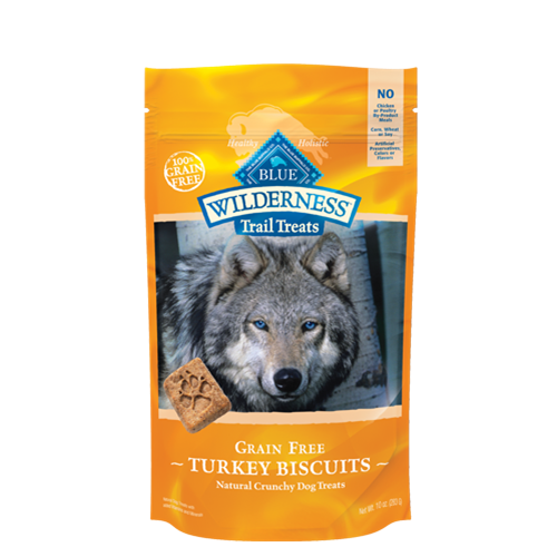 Blue Buffalo Wilderness Grain Free Trail Treats Biscuits for Dogs