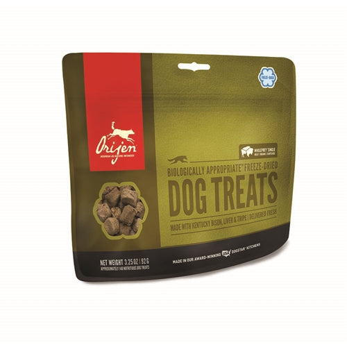 ORIJEN Freeze-Dried Bison Dog Treats