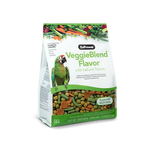 ZuPreem Veggie Blend Med and Lg Bird Food