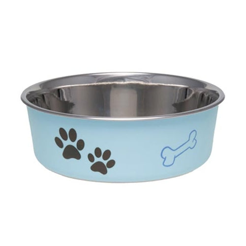 Loving Pets Bella Bowl Classic Murano Blue Bowl