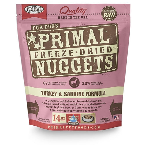 Primal Freeze Dried Turkey Sardine Formula