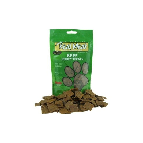 Real Meat Beef Jerky Treats for Dogs