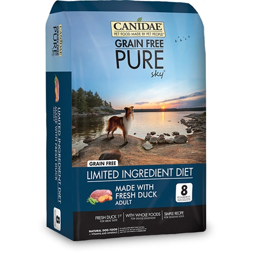 CANIDAE® GRAIN FREE PURE  SKY® Dog Food  WITH FRESH DUCK  DRY FORMULA