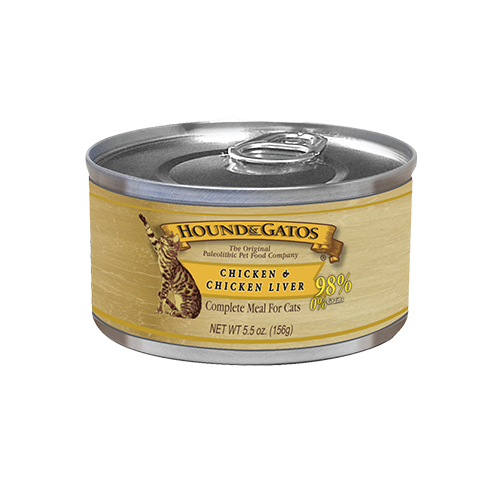 Hound & Gatos Grain Free Chicken Canned Cat Food