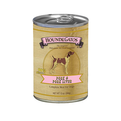Hound & Gatos Grain Free Pork Canned Dog Food