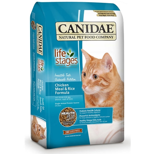 CANIDAE® ALL LIFE STAGES CHICKEN MEAL & RICE FORMULA  DRY CAT FOOD