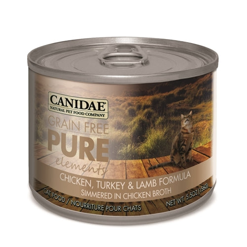 CANIDAE Grain Free PURE elements Canned Cat Food