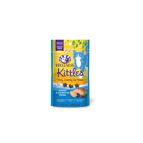 Wellness Kittles Chicken & Cranberries Cat Treat