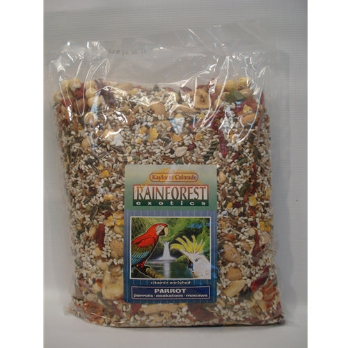 Kaylor of Colorado Rainforest Exotics Parrot Food