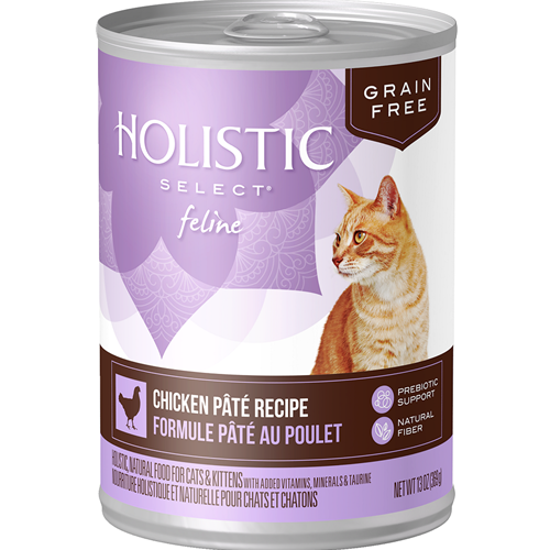 Holistic Select Grain Free Chicken Pate Cat Can