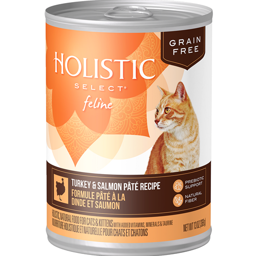 Holistic Select Feline Grain Free Turkey & Salmon Pate Recipe