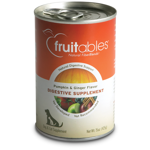 Fruitables - Pumpkin & Ginger Flavor Digestive Supplement