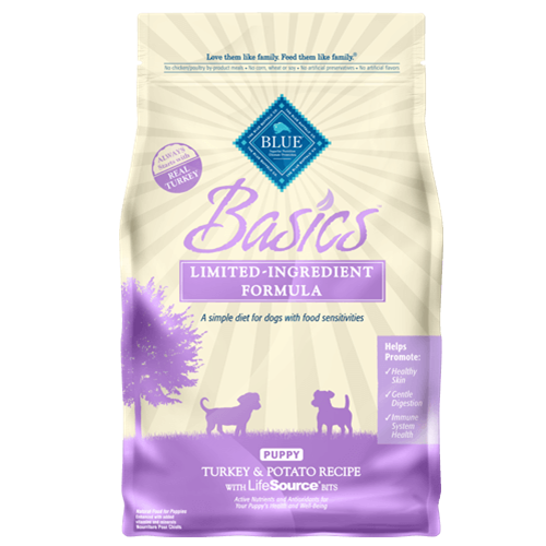 Blue Buffalo Basics Turkey & Potato Dry Puppy Food