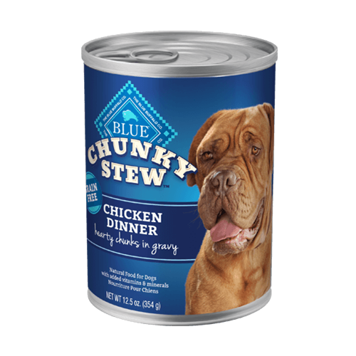 Blue Buffalo Chunky Stew Chicken Dinner For Adult Dogs