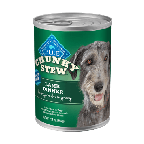 Blue Buffalo Chunky Stew Lamb Dinner For Adult Dogs