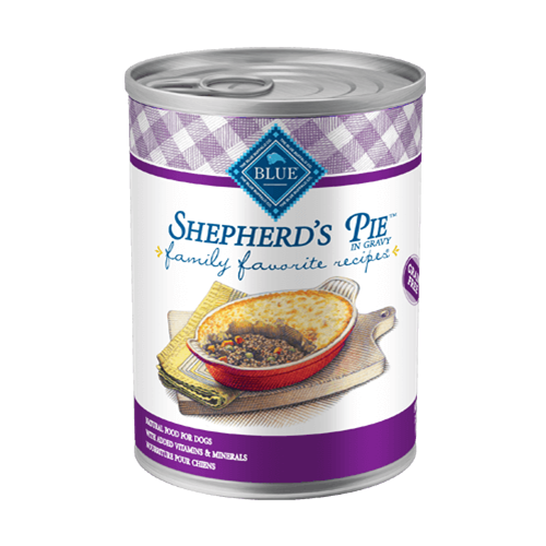 Blue Buffalo Family Favorite Recipes Shepherds Pie For Adult Dogs