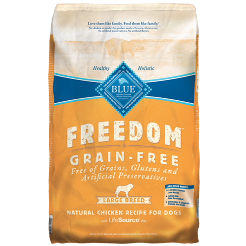 Blue Buffalo Freedom Grain Free Chicken Adult Large Breed Dog Food