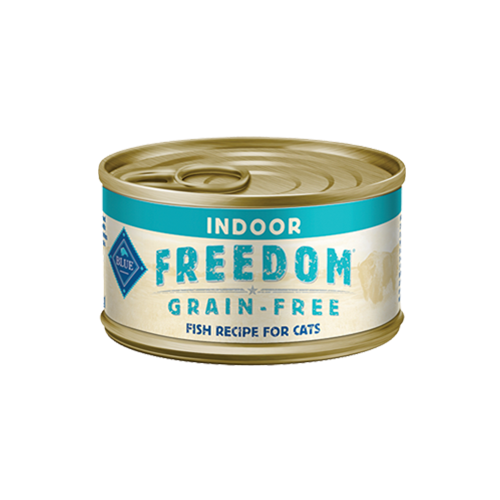 Blue Buffalo Freedom Grain Free Fish Recipe For Indoor Adult Cats