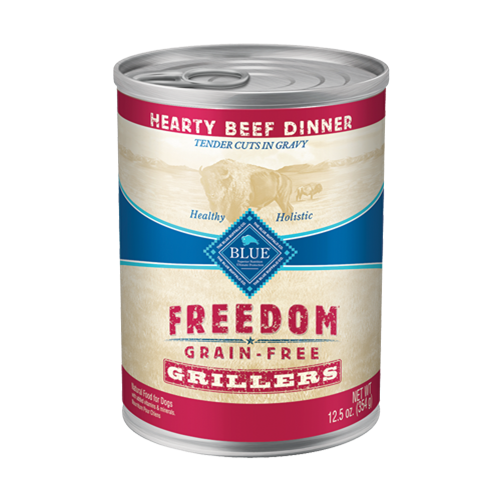 Blue Buffalo Freedom Grain Free Grillers Hearty Beef Canned Dog Food