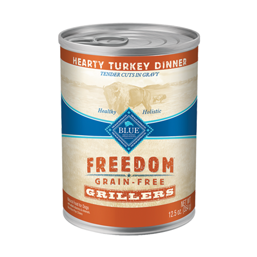 Blue Buffalo Freedom Grain Free Grillers Turkey Canned Dog Food