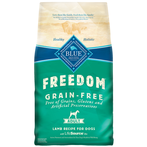 Blue Buffalo Freedom Grain Free Lamb Adult Dog Food