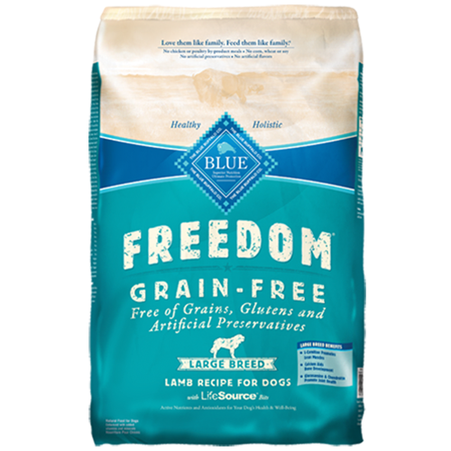 Blue Buffalo Freedom Grain Free Lamb Adult Large Breed Dog Food