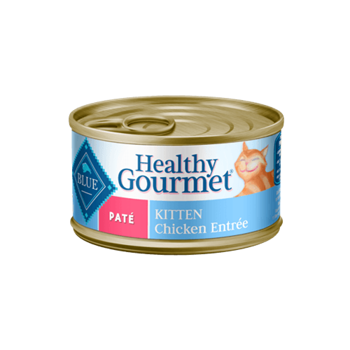 Blue Buffalo Healthy Gourmet Chicken Entree Can Kitten Food