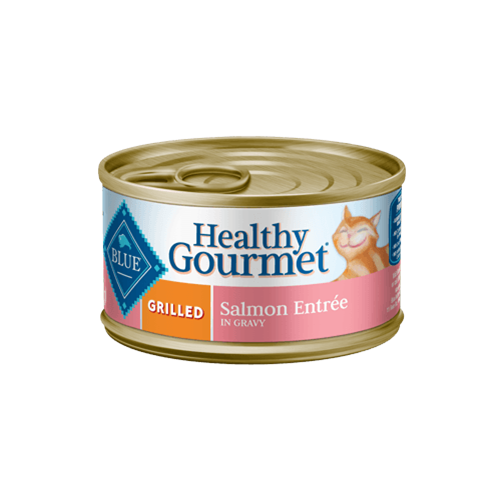 Blue Buffalo Healthy Gourmet Grilled Salmon Entree Can Cat Food