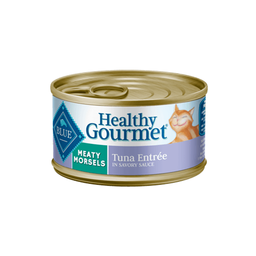 Blue Buffalo Healthy Gourmet Meaty Morsels Tuna Entree Can Cat Food