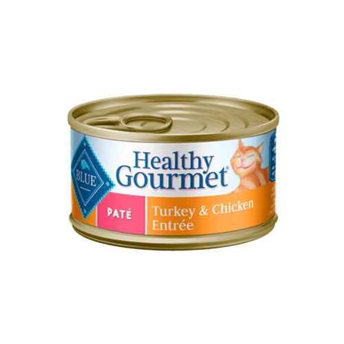Blue Buffalo Healthy Gourmet Turkey & Chicken Entree Can Cat Food