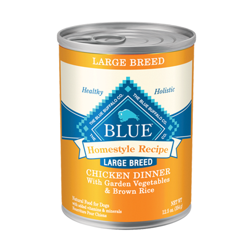 Blue Buffalo Homestyle Recipe Chicken Dinner Canned Large Breed Dog Food