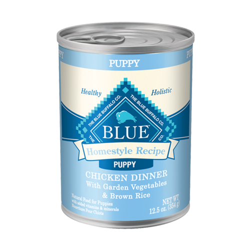 Blue Buffalo Homestyle Recipe Chicken Dinner Canned Puppy Food