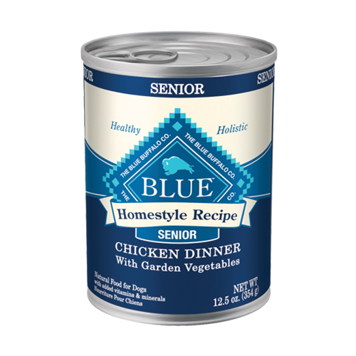 Blue Buffalo Homestyle Recipe Chicken Dinner Canned Senior Dog Food