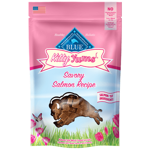 Blue Buffalo Kitty Yums Savory Salmon Soft Moist Treats