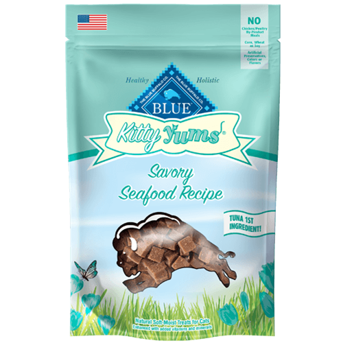 Blue Buffalo Kitty Yums Seafood Sensation Soft Moist Treats