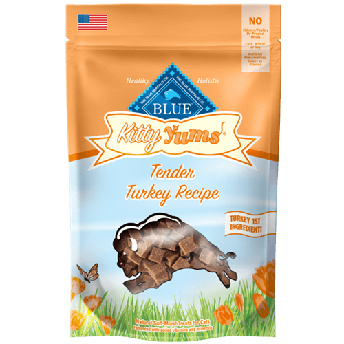 Blue Buffalo Kitty Yums Tender Turkey Soft Moist Treats