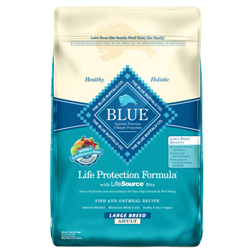 Blue Buffalo Life Protection Fish Dry Adult Large Breed Dog Food
