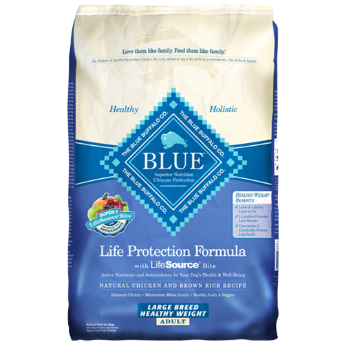 Blue Buffalo Life Protection Healthy Weight Chicken Dry Large Breed Adult Dog Food