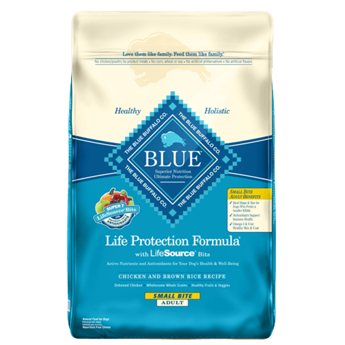 Blue Buffalo Life Protection Small Bite Chicken Dry Senior Dog Food