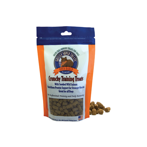 Grizzly Salmon Crunchy Training Treats for Dogs