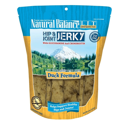 Natural Balance L.I.T. Hip & Joint Jerky Duck Formula Dog Treats